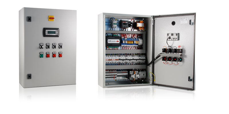 Electrical panel for compressor racks