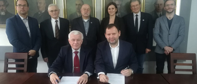 Cooperation Agreement with the Warsaw University of Technology