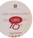 CAREL celebrates its first 10 years in China: success stories and new ideas